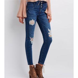 NWT! Refuge Hi-Waist Skinny Jeans